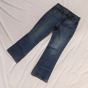 """Boot Cut Jeans Size 12 34"""" Waist"""